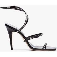 Jimmy Choo Black Jane Leather Sandals