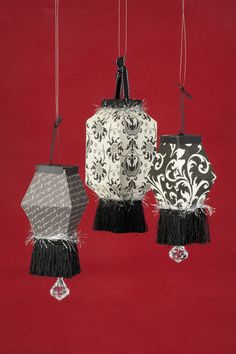 Chinese lanterns with the #Cricut