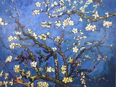 Almond Blossoms is from a group of several paintings made in 1888 and 1890 by Vincent van Gogh in Arles and Saint-Rémy, southern France of blossoming almond trees. Flowering trees were special to van Gogh. They represented awakening and hope. Vincent Van Gogh, Art Floral, Painting Frames, Painting Prints, Van Gogh Arte, Van Gogh Pictures, Quote Pictures, Van Gogh Almond Blossom, Cherry Blossom