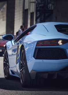♂ Baby blue Luxury Car Virage vs Camaro vs Aventador #vehicles #wheelskjmj