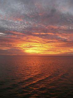 Sunset on Captain Cook Cruises Fiji