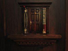 fairy doors of Ann Arbor, original fairy doors, Nicolas Books