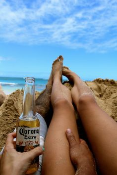 this would be bliss. the beach, a corona, sun and the person i love
