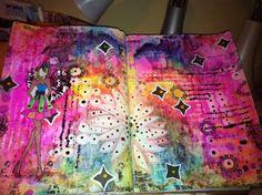 mixed media journalling ideas.