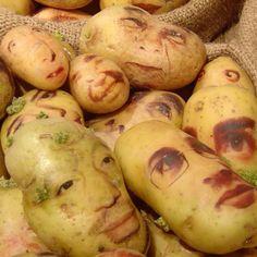 Potato art.... stop playin