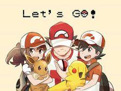 Let's Go! By rainyazurehoodie