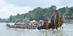 Thrilling Kallada Boat Race in Kollam is an enjoyable moment in Kerala.The boat race is conducted annually after 28 days of Onam celebrations.This thrilling race can be enjoyed by any Kerala travel packages.Winners of the race are given trophies and prizes.12 huge snake boats are participated in the race which is an exciting sight.