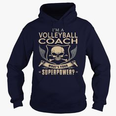 VOLLEYBALL COACH-SUPER, Just get yours HERE ==> https://www.sunfrog.com/LifeStyle/VOLLEYBALL-COACH-SUPER-Navy-Blue-Hoodie.html?id=41088 #christmasgifts #xmasgifts #volleyball #volleyballlovers
