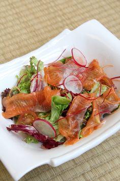 Scottish Smoked Salmon Salad  Suma Restaurant, KL Sogo Kuala Lumpur.