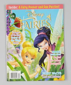 What could be more fun than a magazine devoted to fanciful Disney fairy friends? Packed with magical adventures and priceless pixie stories, the issues also feature puzzles, games and quizzes, along with pages to color, comics and fancy fairy cutouts! Imagination is encouraged with the flutter of every whimsical fairy wing. Shipping note: This subscription can only be delivered to addresses in the USA and is mailed out in 8 to 10 weeks.
