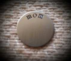 Mom Locket Plate  Floating Locket Charm  by CreativeDesignsByEJ