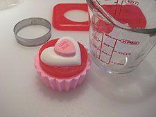 Valentine Cupcake Soaps