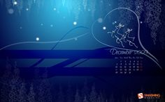 "Snow Deers Link """"A month of love and joy for all, beneath the white snow fall… Its cold, snowy and icy on the outside, but christmas keeps us all warm on the inside."" Designed by Arjun Raj Kumar.S from India.Smashing Wallpaper - december 09"