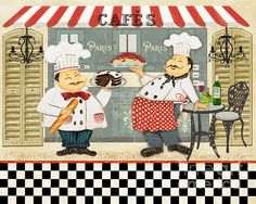 I uploaded new artwork to plout-gallery.artistwebsites.com! - 'French Chefs-jp2279' - http://plout-gallery.artistwebsites.com/featured/french-chefs-jp2279-jean-plout.html
