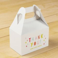 Pin this Confetti bash favor bins