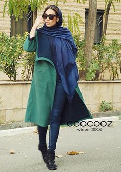 Fashion of IRAN Abaya Fashion, Muslim Fashion, Kimono Fashion, Star Fashion, Womens Fashion, Classic Outfits, Chic Outfits, Iranian Women Fashion, Winter Fashion Outfits