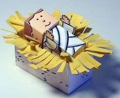 FREE PRINTABLES! My Little House: Bible Paper Toys - Book 1 - Nativity Figures