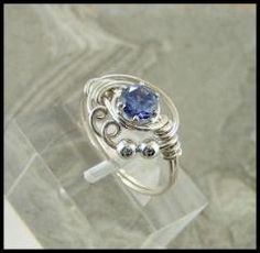 WIRE WRAPPED RINGS - By Twisted Crystal a must see !!!