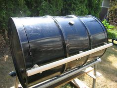 How To Build Your Own BBQ Barrel - http://www.ecosnippets.com/diy/how-to-build-your-own-bbq-barrel/