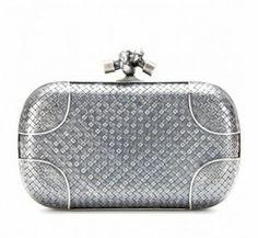 Top 10 woman bags 10.Bottega Veneta – Knot Silver Box ……  Purse made of silver, and cost 7,000 euros…