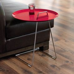 This Porter Tray Table from the MoMA Store was designed by Jens Pohlmann, Thilo Schwer and Sybille Fleckenstein.
