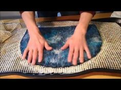 In Part 2 of this video you will learn the wet felting and blocking of your hat. Presented by Brigitte from For Your Head Hat Blocks Wet Felting Projects, Felting Tutorials, Nuno Felting, Needle Felting, Hat Blocks, Creative Textiles, Scarf Tutorial, Fabric Yarn, Bijoux Diy