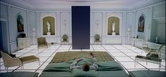 Stanley Kubrick - One point perspective - light