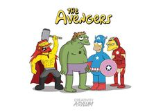 The Avengers, The Simpsons