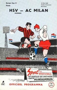 Programma Ufficiale Finale di Rotterdam 1968