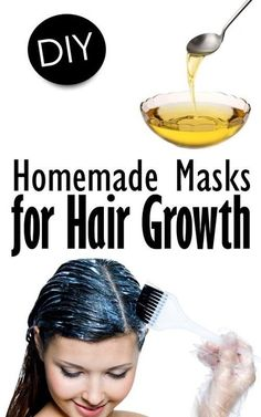 Homemade Masks for Hair Growth via #101tipsforwomen