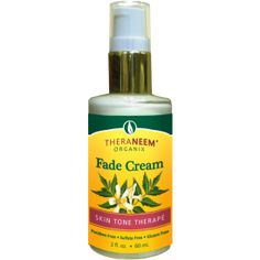 Neem Oil Fading Cream - Helpful for my melasma as a result of hormone imbalance due to chronic lyme disease.  Clean alternative to daily or regular Rx hydroquinone creams and face lighteners with chemicals, hormone disruptors.