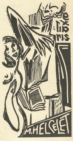 Afbeeldingsresultaat voor ex-libris Ex Libris, Artist, Illustrations, Design, Books, Self, Kunst, Libros, Artists