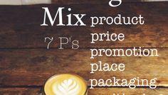 Coffee Shop Business Plan: Marketing Mix