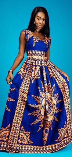 the VICTORIA maxi. V neck African print maxi dress with 2 side pockets and back zip.   Made with 100% cotton high quality African print wax fabric and 100% cotton lining. Ankara   Dutch wax   Kente   Kitenge   Dashiki   African print bomber jacket   Afric #AfricanFashion