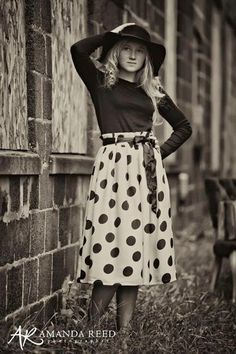 Ah love this polka dot skirt! from dainty jewell's #DaintyJewell's www.DaintyJewell's.com