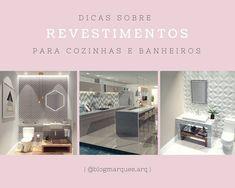 #revestimentos #cozinha #banheiro #decoração #interiores #interiordesign #arquitetura #arquiteturadeinteriores #dica #obra #dicadadrimarques #homedecor