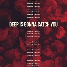 """Stream """"Deep Is Gonna Catch You (feat.Dallas Vee)"""" by Cynosure Sa - Distributed by DistroKid Save Me, Talk To Me, Dallas, Thankful, Deep"""