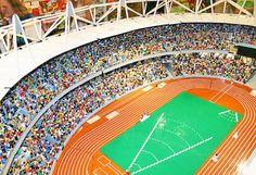 LEGO Replica of the London OlympicStadium