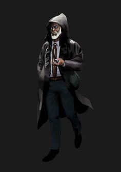 ArtStation - characters, Michael Bridge