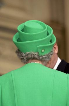 : The Queen Visiting The National Gallery Of Modern Art In Rome, Italy