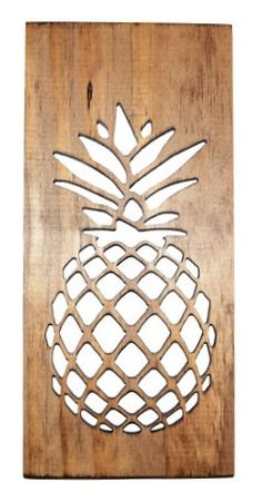 Pineapple Kitchen Art- Carved Wood: Slava Dunav - For The Kitchen Online Artisan Exhibition - International Gallery Of The Arts (IGOA)