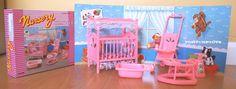 Gloria Doll House Sz Furnitures for Barbie Nursery Room Play Set   eBay