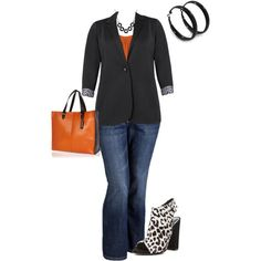 plus size outfit, created by penny-martin on Polyvore