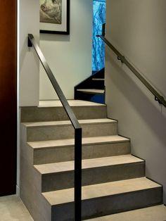 Main courante on pinterest escalier m tallique sheet - Renovation escalier bois ...