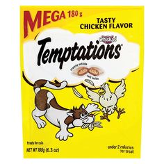 TEMPTATIONS Classic Treats for Cats Tasty Chicken Flavor 6.3 Ounces by Temptations * Be sure to check out this awesome product. (This is an affiliate link and I receive a commission for the sales) #CatLovers
