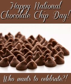 Happy National Chocolate Chip Day!