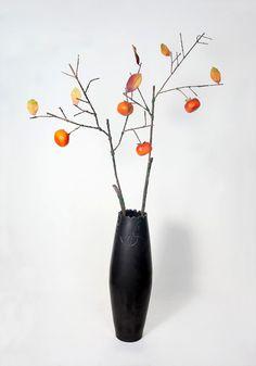 Decorative ceramics furnishing articles metal zen style  The simulation flower…