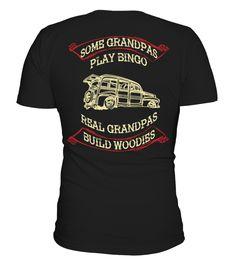 WOODIES GRANDPAS ** LIMITED EDITION  #gift #idea #shirt #image #funny #campingshirt #new