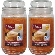 Better Homes And Gardens 18oz 2 pk. Warm Pumpkin Cookies, Beige