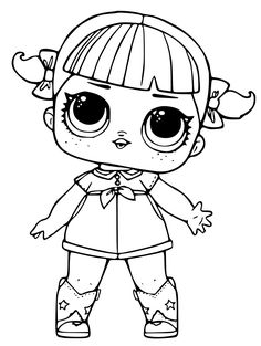 Printable Lol Doll Coloring Pages from Lol Doll Coloring Pages Printable. Toys LOL are treading the peak of popularity among children throughout the world. Even though the doll inside the LOL Surprise ball is not exactly rev.